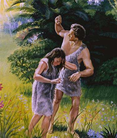 an analysis of the garden of eden and expulsion of adam and eve Analysis of the poem : genesis, by bruce dawe bruce dawe, an australian poet, has written the poem 'genesis' the poem compares the beginning of school to adam and eve's expulsion from the garden of eden, hence the title 'genesis.