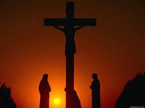 Jesus On The Cross On The Cross