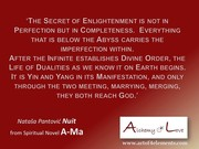 Ama Spiritual Novel Alchemy of Love by Nuit, Spiritual Quote Enlightenmnet