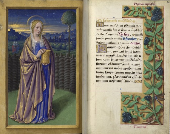 Mary Magdalene missal photo