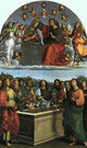 Assumption and Coronation of the Virgin (Raphael, 1502-4)