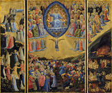 The Last Judgement (Winged Altar) by Fra Angelico (circa 1450) http://commons.wikimedia.org/wiki/File:Fra_Angelico_-_The_Last_Judgement_(Winged_Altar)_-_Google_Art_Project.jpg
