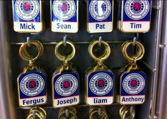 Image result for Rangers keyrings