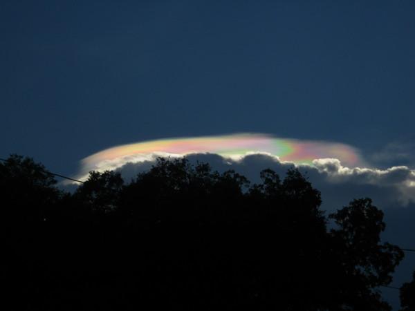 Curious Rainbow Cloud