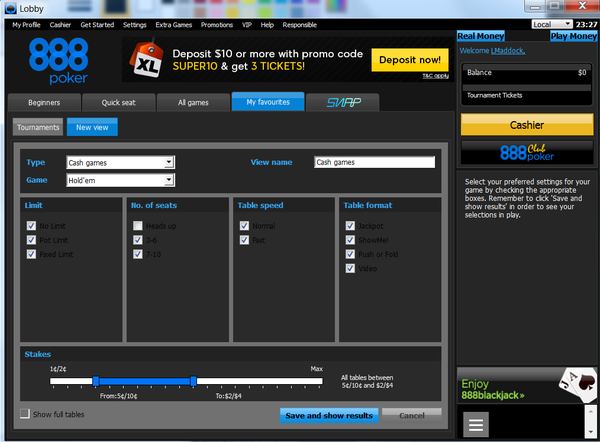 888 poker lobby not working poker hud android
