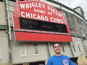 Outside Wrigley Field after AstrosCubs in July '09