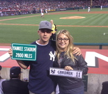 Supporting my favorite Brett Gardner in 2013 in LA