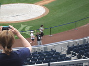 5K race at Yankee Stadium 8/15/10