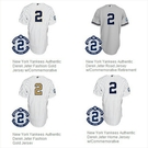 Derek Jeter Final season jerseys!