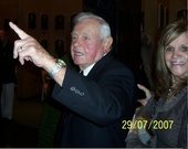 Earl & Marianna Weaver at the Baseball Hall of Fame in 2007.
