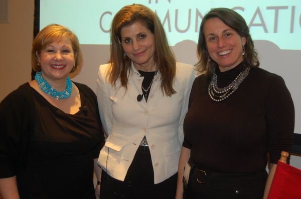 Linda Descano, Diane DiCostanzo and Lori Greene Vice President, Programming for NYWICI