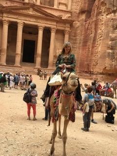 Camel Ride in Petra
