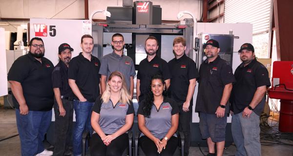 CNC Machines Team