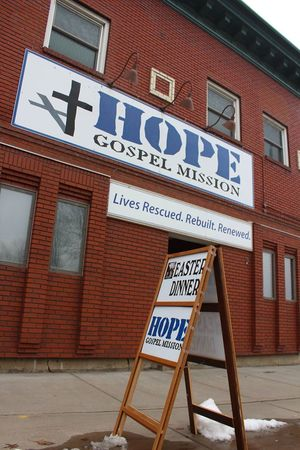 House of Hope shelter for men