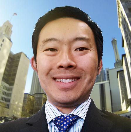 Hickson Chen in Hollywood, California