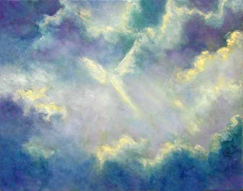 ... > Angel Art - Visions Of Heaven by Marina Petro > A Gift From Heaven