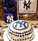 Yankees M&M Cake