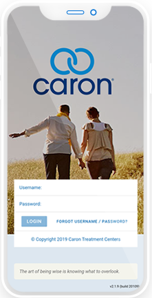 The Caron Recovery Network App